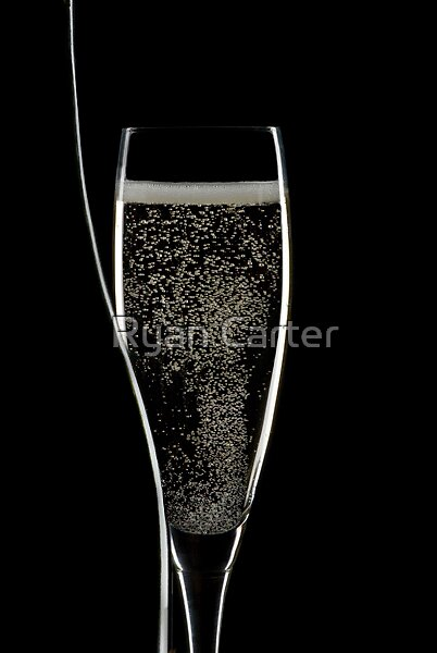 Champagne Glass by Ryan Carter
