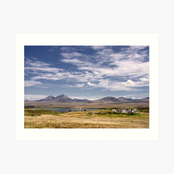 Islay: View to Jura Art Print