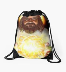 All of Time and Space Drawstring Bag