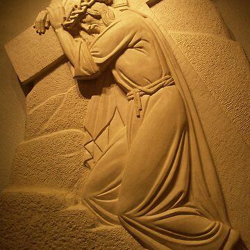Jesus Sculpture at St Joseph's Oratorium-Montreal by stefanChirila