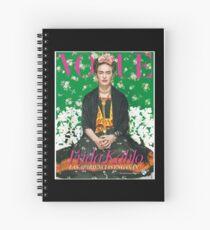 Frida Kahlo Merchandise Spiral Notebook