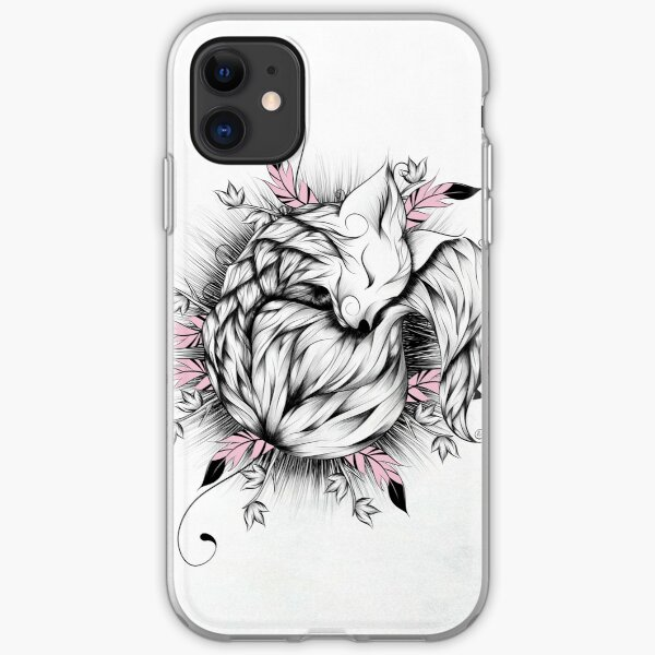 Little Fox Pink Version iPhone Soft Case