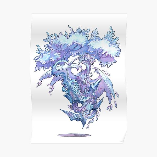 crystal bonsai  Poster