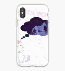 Unicorn Live your dreams Einhorn Dream Queen iPhone-Hülle & Cover