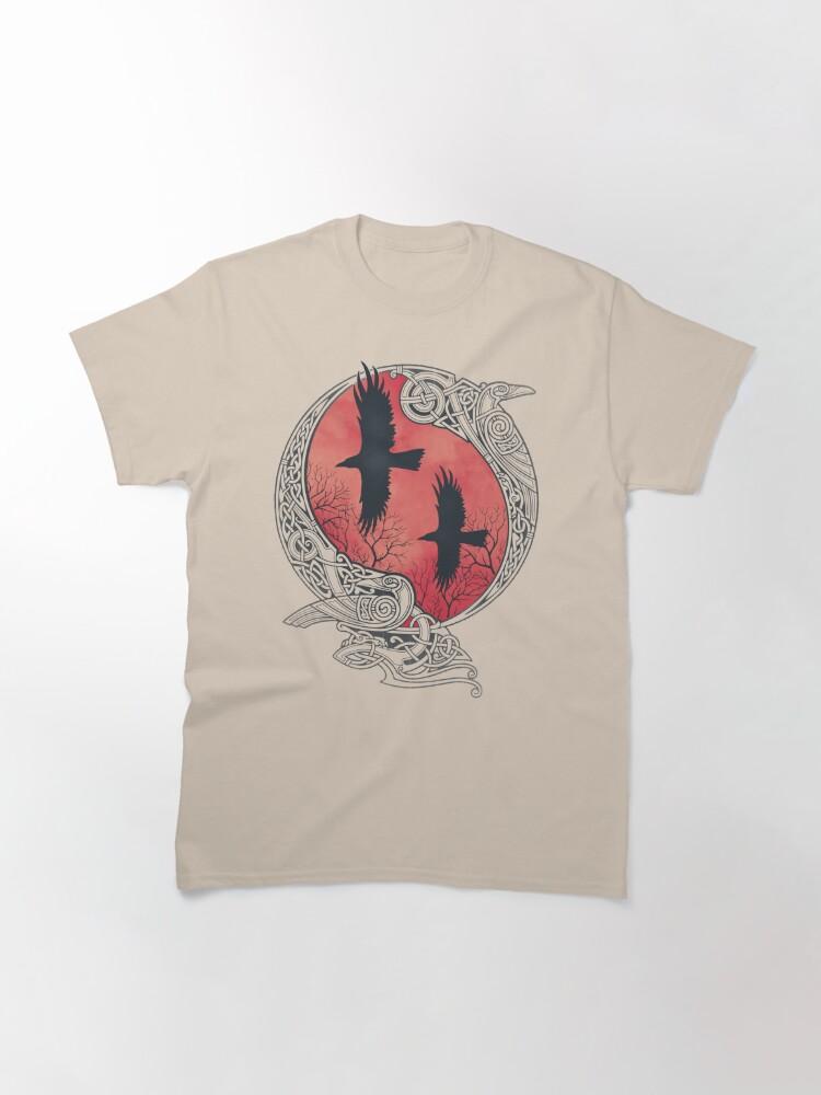 Alternate view of HUGIN&MUNIN Classic T-Shirt