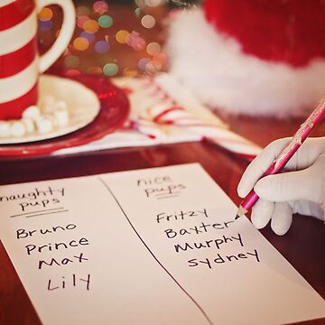Santa List by EdmondHoggeJr