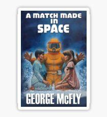 Prop Replica: A Match Made In Space Book Sticker