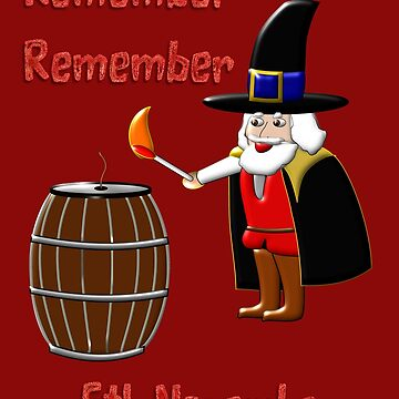 Remember, Remember 5th November 1605 by ZipaC