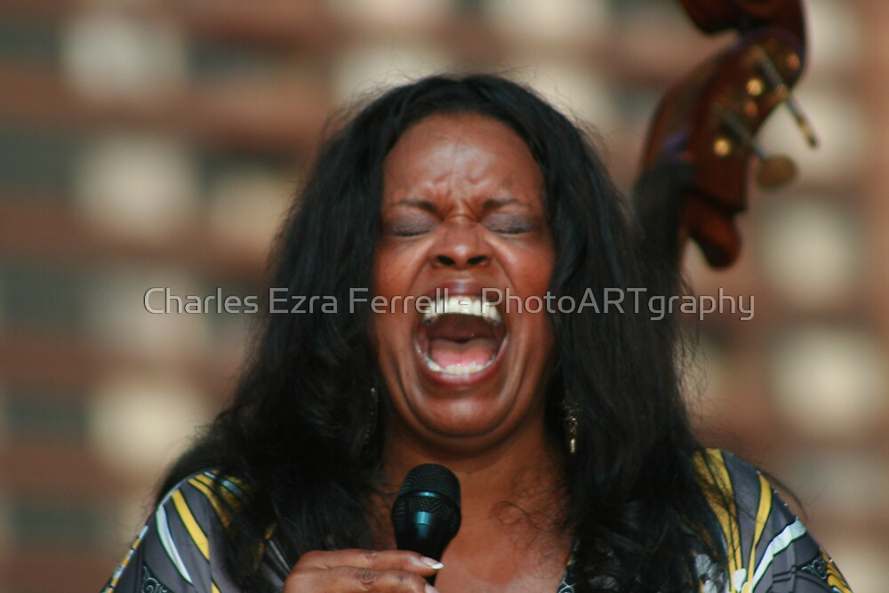 Dianne Reeves - Totally Immersed by Charles Ezra Ferrell - PhotoARTgraphy