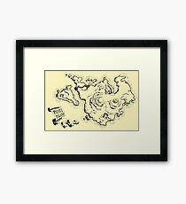 Phatt Island Framed Print