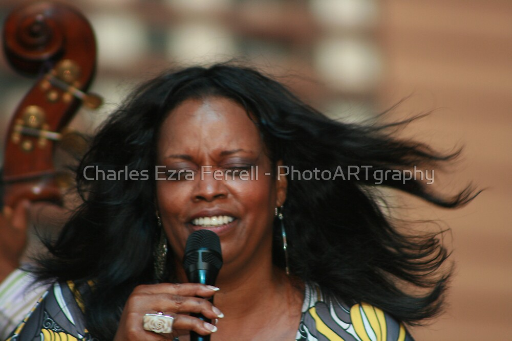 Dianne Reeves - Summer Breeze by Charles Ezra Ferrell - PhotoARTgraphy