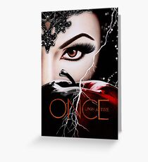 Once Upon A Time S6 Greeting Card