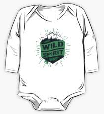WILD SPIRIT green version One Piece - Long Sleeve