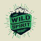 WILD SPIRIT green version by snevi
