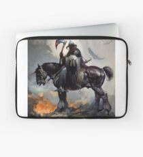 DarkWolf from Animated movie Fire and Ice Laptop Sleeve