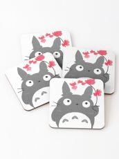 Chubby totoro Coasters