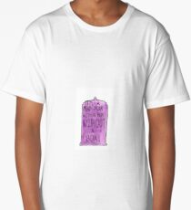 Doctor Who - 11th Doctor Quote Long T-Shirt
