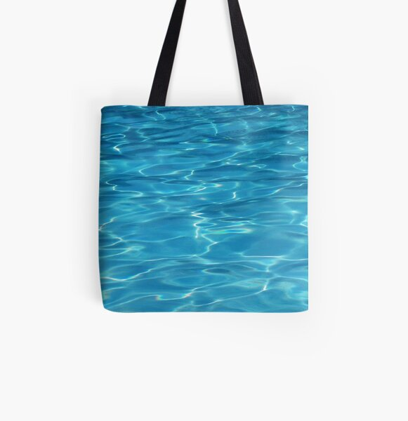 Water All Over Print Tote Bag