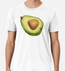 Avocado. Farbstift Premium T-Shirt