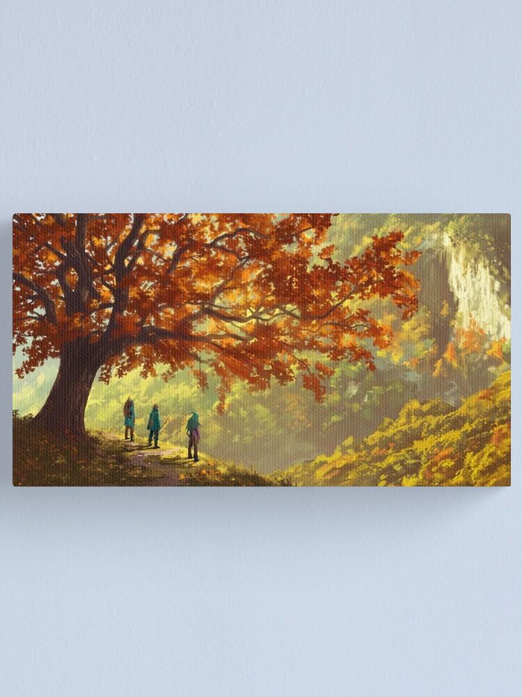 Alternate view of Not yet Canvas Print