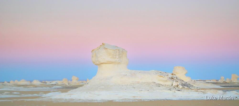 White Desert Sphinx, Egypt by Luke Martin