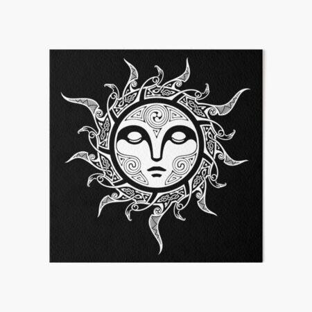YULE. MIDWINTER SUN. Art Board Print