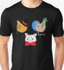 Cute  Cats in Hats  Unisex T-Shirt