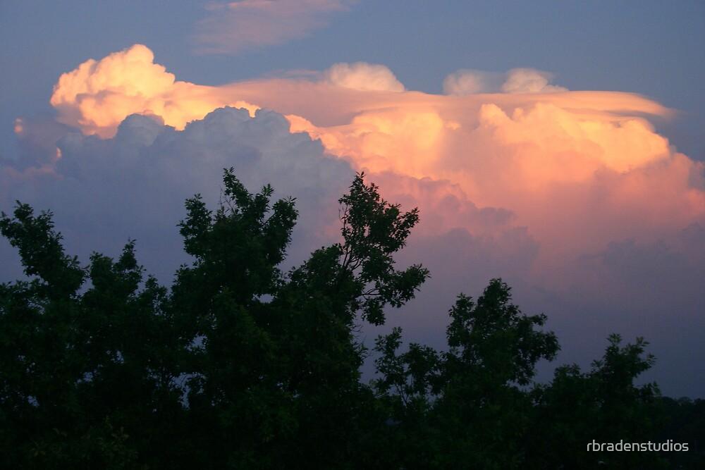 sunset clouds 3 by rbradenstudios