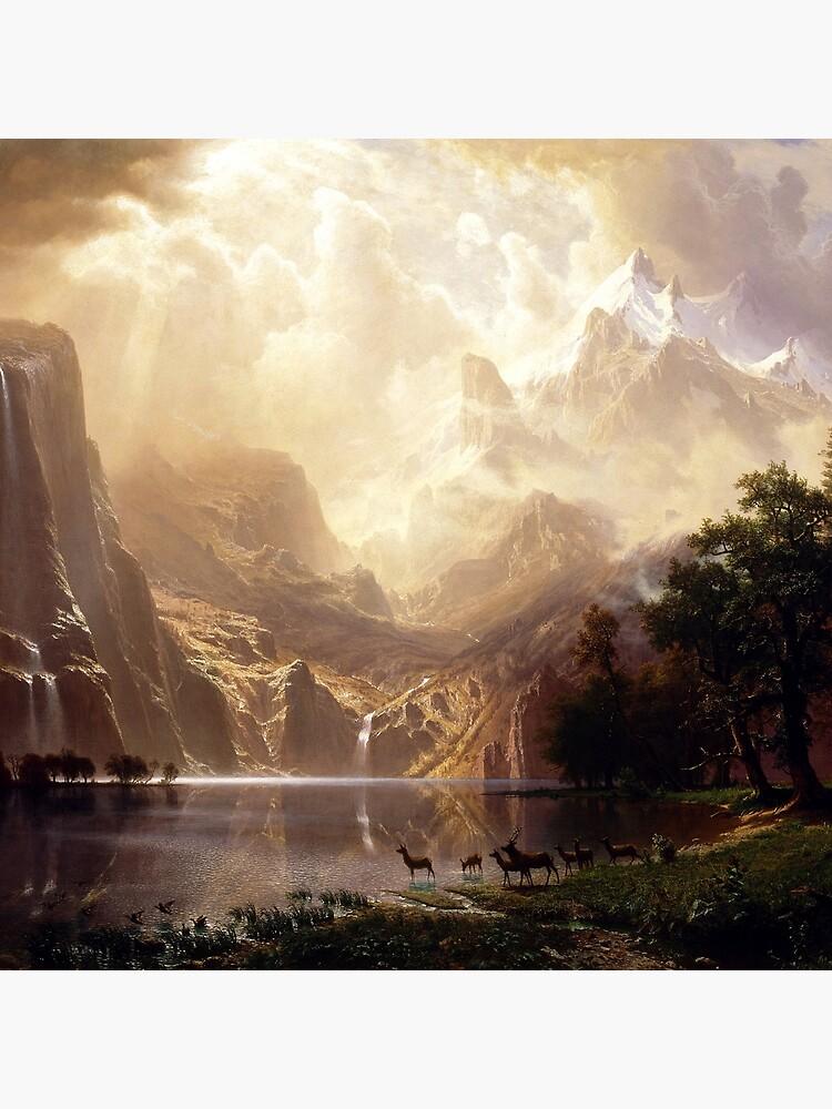 Among the Sierra Nevada, California by Goshadron