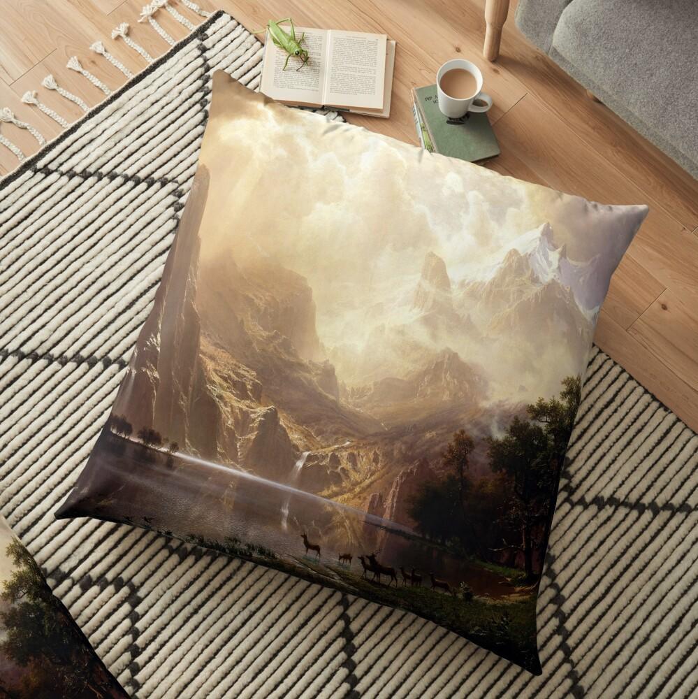 Among the Sierra Nevada, California Floor Pillow