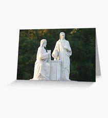 statuary Greeting Card