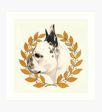 French Bulldog - @french_alice Art Print