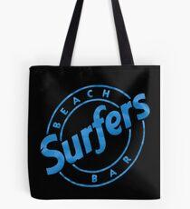 Surfers Beach Bar Tenerife Tote Bag