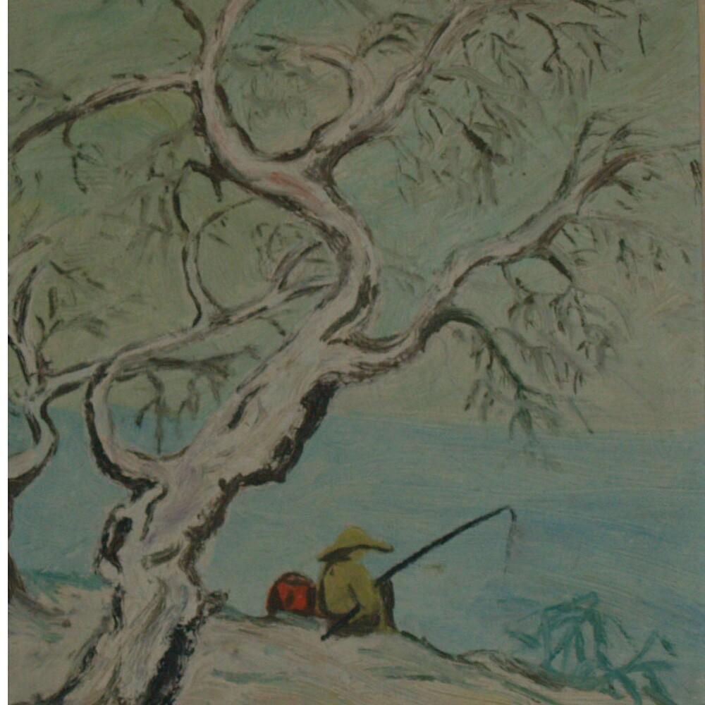 Gone Fishing by Elsie  Duggan