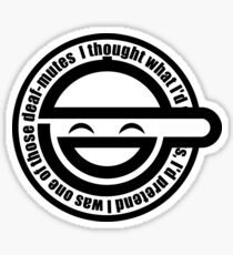 Ghost in the Shell - Laughing Man Mono Logo Sticker