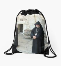 Greek and Armenian Monks Drawstring Bag