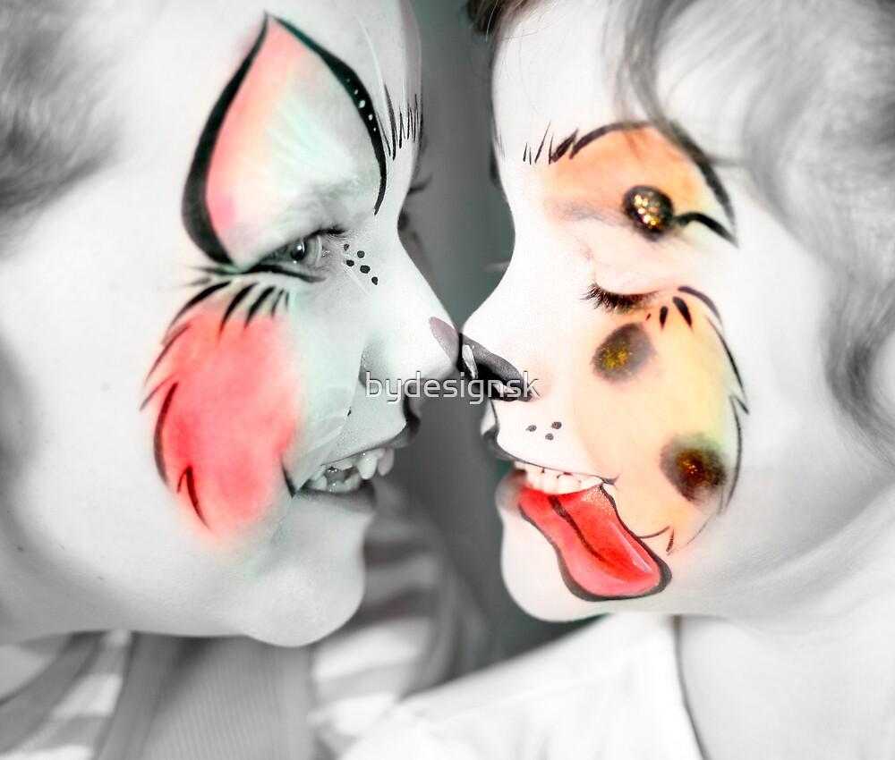 Cat & Dog by bydesignsk