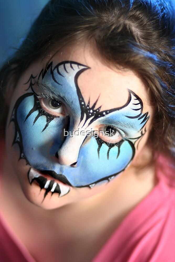 blue girl by bydesignsk