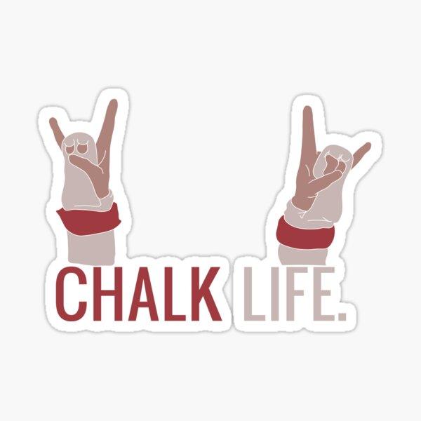Chalk Life Sticker
