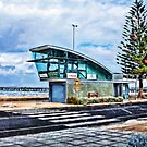 Altona Beach - Life Saving Club Tower - Victoria, Australia by © Helen Chierego