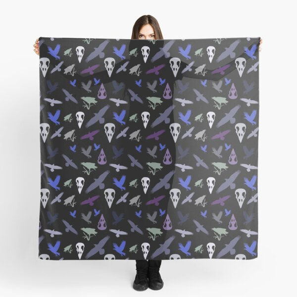 Raven halloween Scarf
