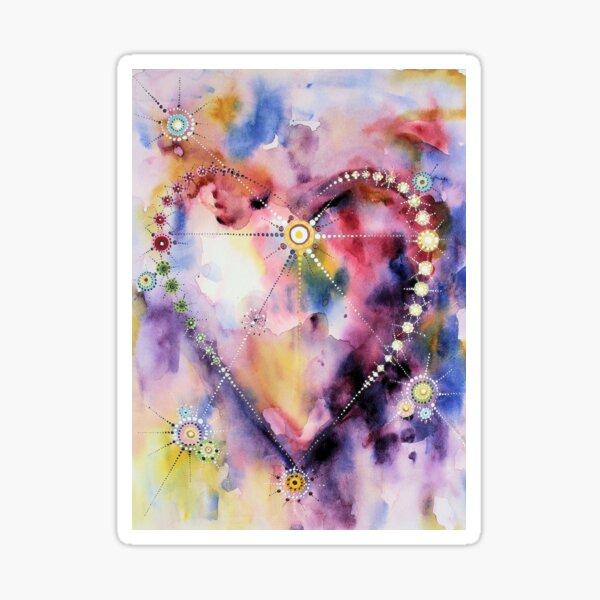 hart 1 / heart 1 Sticker