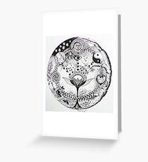 geboorte-leven / birth Greeting Card