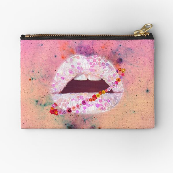 Ultra Punch of Cosmos Bloom Ring Edition Zipper Pouch
