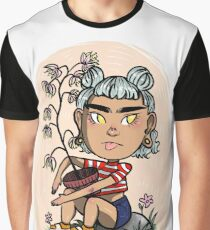 Hipster meets plant Graphic T-Shirt