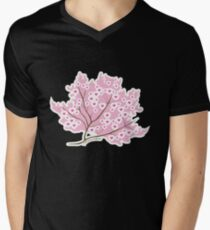 Sakura Love Mens V-Neck T-Shirt