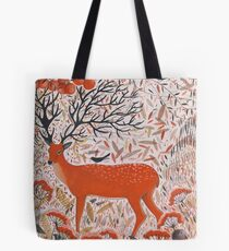The Fall of Autumn Tote Bag