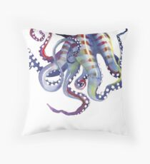 Sea Monster Throw Pillow