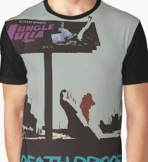 Death Proof Retro Movie Print Graphic T-Shirt