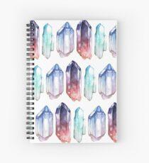 Cuaderno de espiral Cristales